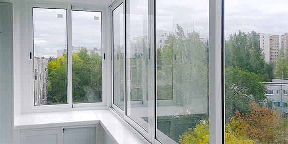 раздвижные Алюминиевые Балконные системы в Витебске