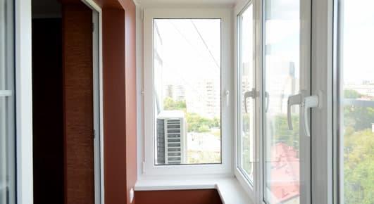 Теплое остекление балкона (ПВХ) в Витебске