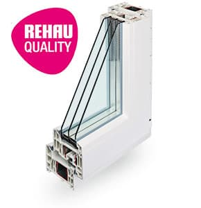 Rehau Intellio- пластиковый оконный профиль Rehau в Витебске