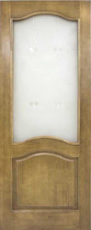 ДО 7 Светлый лак, стекло мателюкс