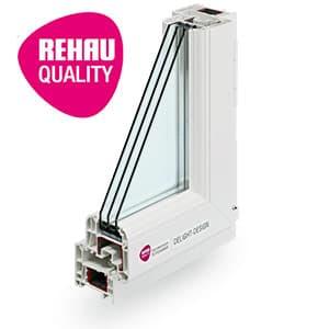 Rehau Delight Design - пластиковый оконный профиль Rehau в Витебске