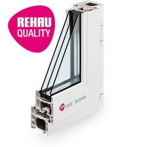 Rehau Sib-Design - пластиковый оконный профиль Rehau в Витебске