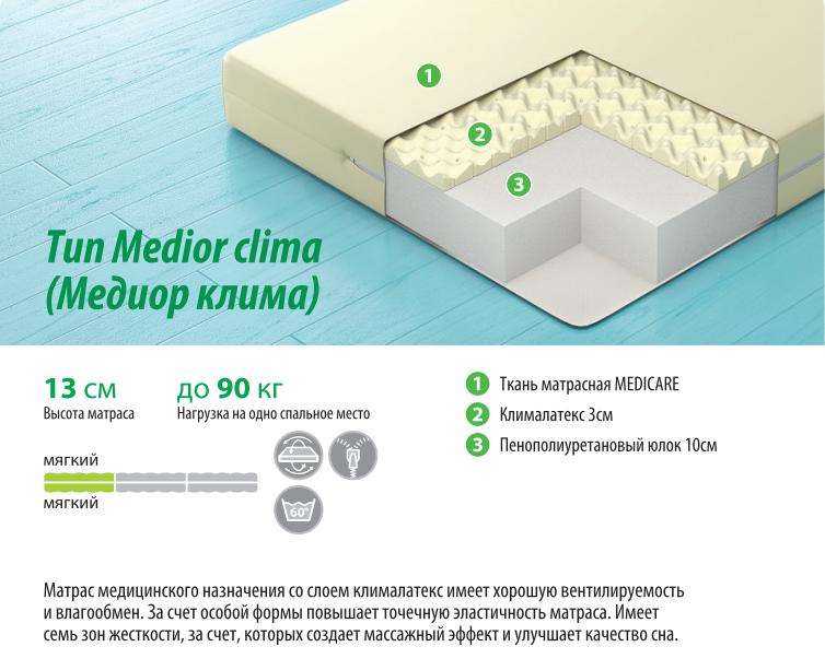 Тип Medior clima (Медиор клима)