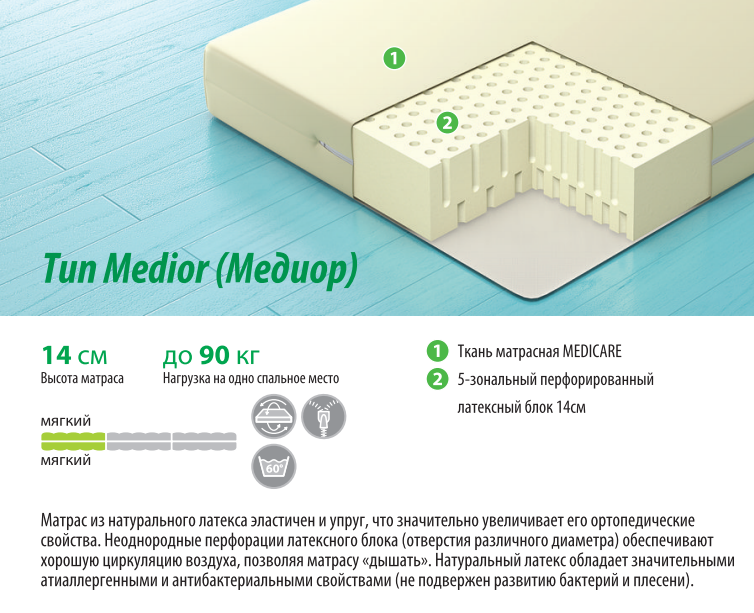 Тип Medior (Медиор)
