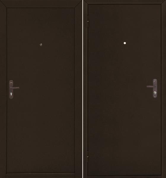 Стройгост 5-1 Металл/Металл, Медь антик, внутреннее открывание