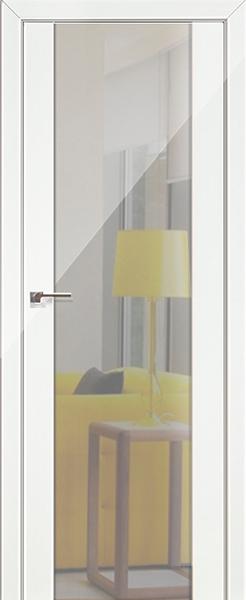 8L Белый люкс, зеркальный триплекс