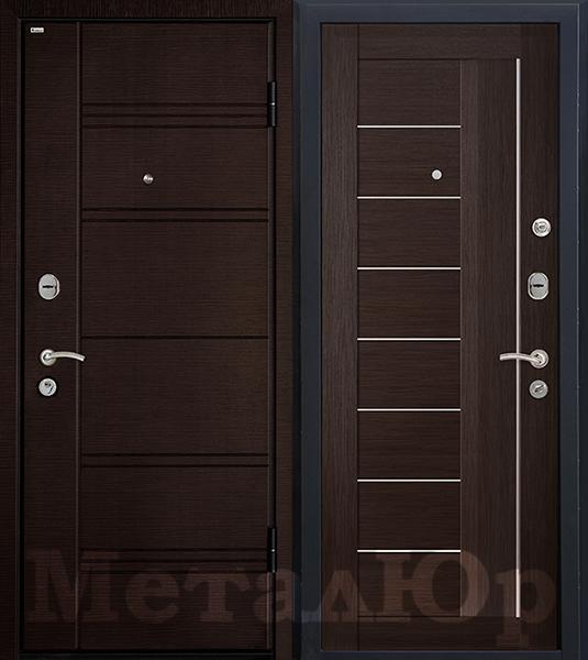 МеталЮр М17, венге мелинга, матовое стекло