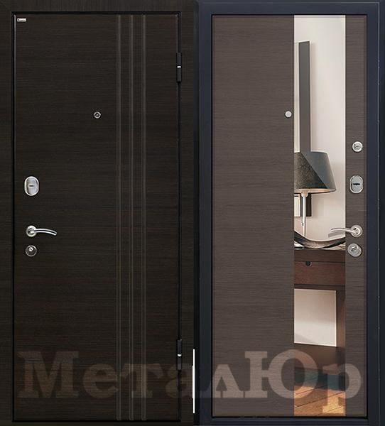 МеталЮр М15, грей кроскут, зеркало