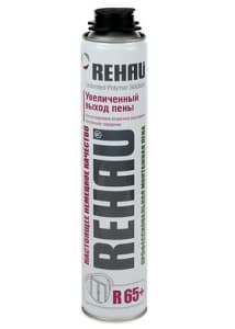 Монтажная пена Rehau для установки окон